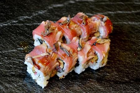 Tataki thon aux truffes