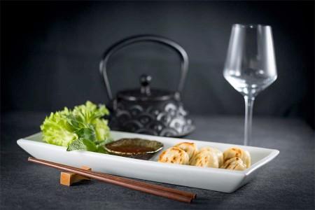 Jiao Zi poêlés aux légumes